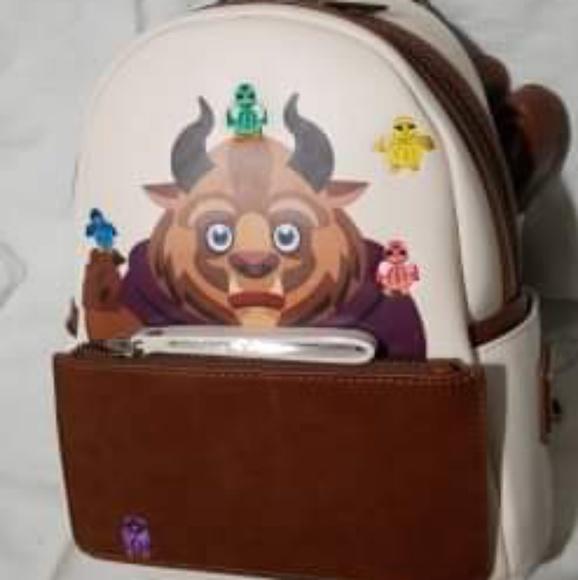 Disney Handbags - Beauty and the Beast backpack